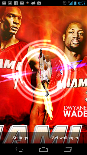 Miami Heat Live Wallpaper