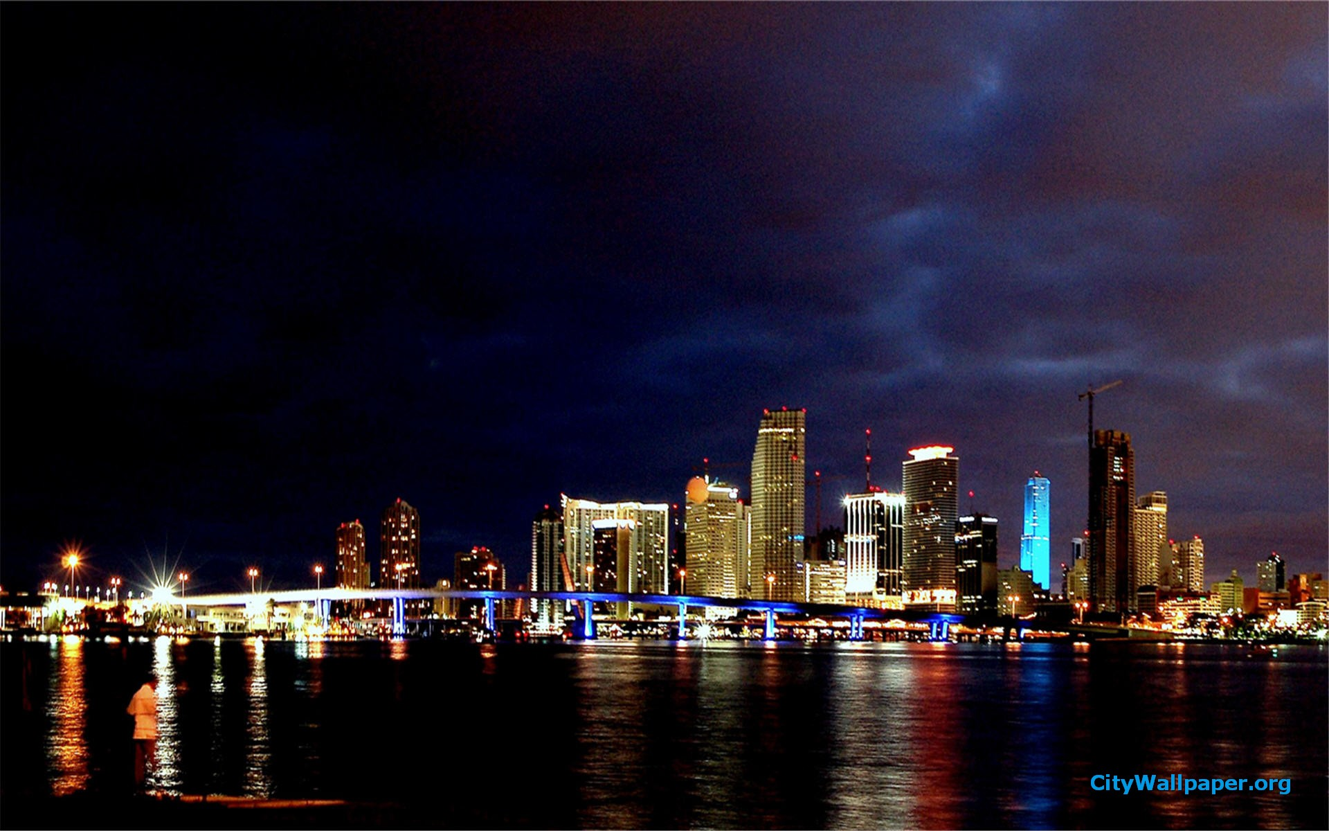 Miami Skyline Wallpaper