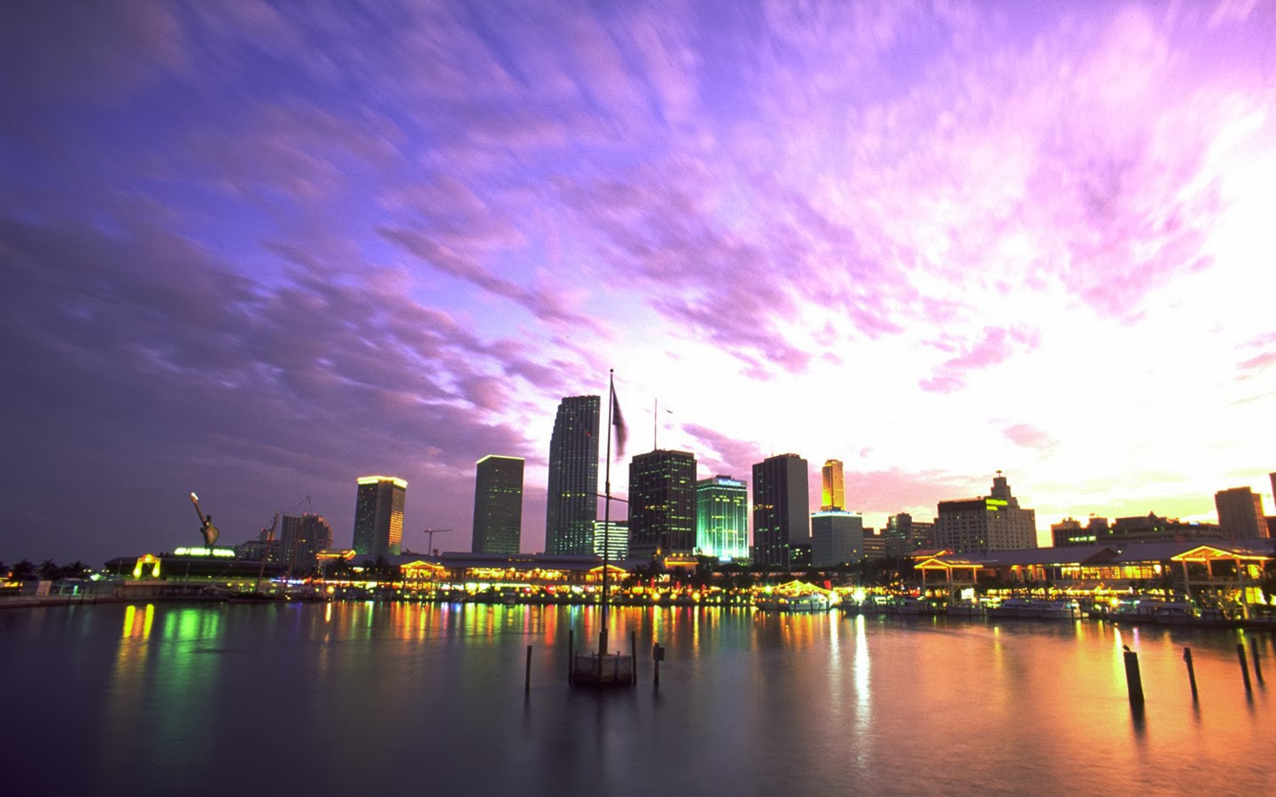 Download Miami Sunset Wallpaper Gallery