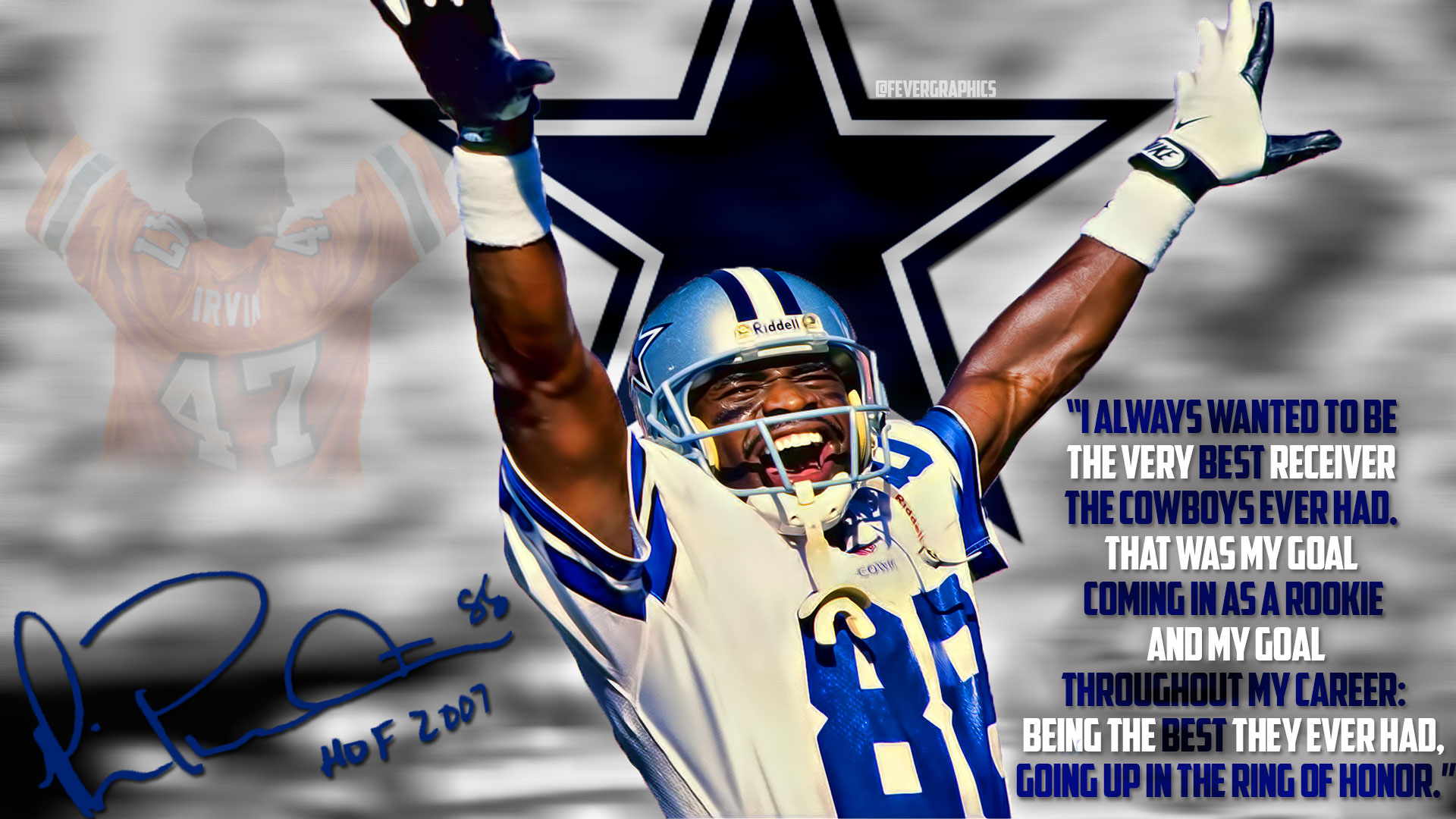 Michael Irvin Wallpaper