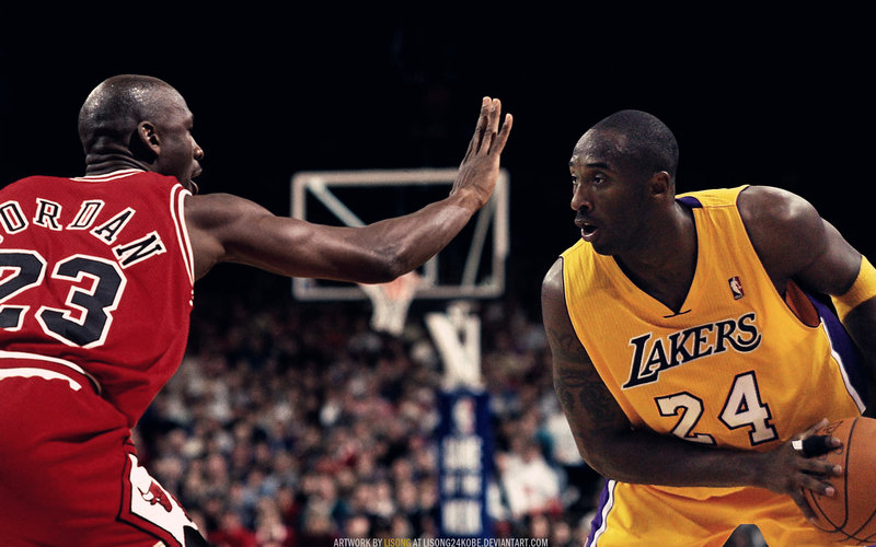 kobe bryant vs michael jordan A youtube user made an incredible video showing how identically similar kobe bryant's game is to michael jordan's watch some gifs if you don't believe it.