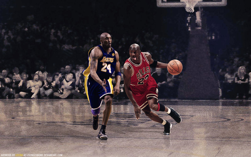Michael Jordan Vs Kobe Bryant Wallpaper