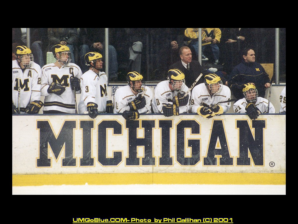 Michigan Hockey Wallpaper
