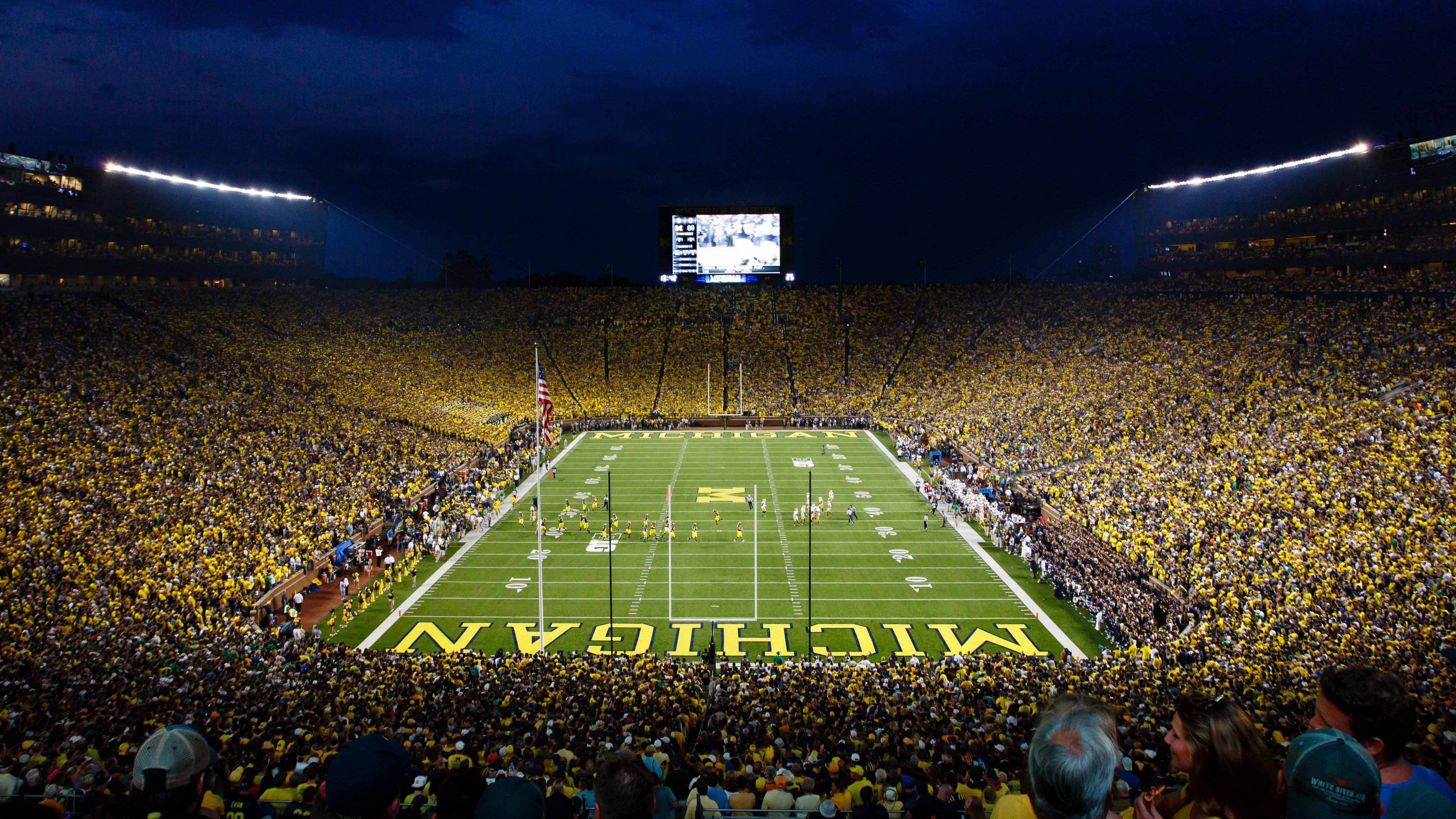 Michigan Stadium Wallpaper