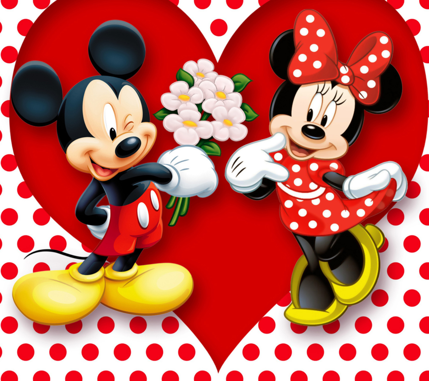 Download mickey and minnie mouse wallpaper gallery - Minni et mickey ...