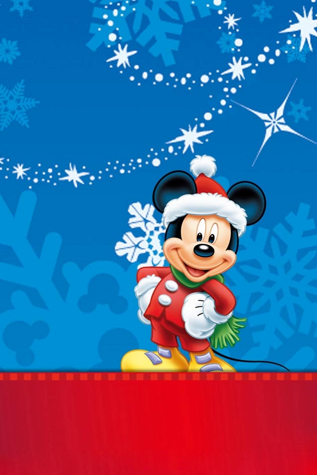 Mickey Mouse Christmas Wallpapers