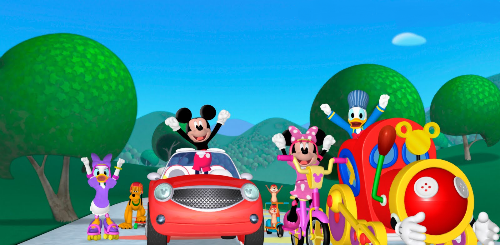 Mickey Mouse Club House Wallpapers