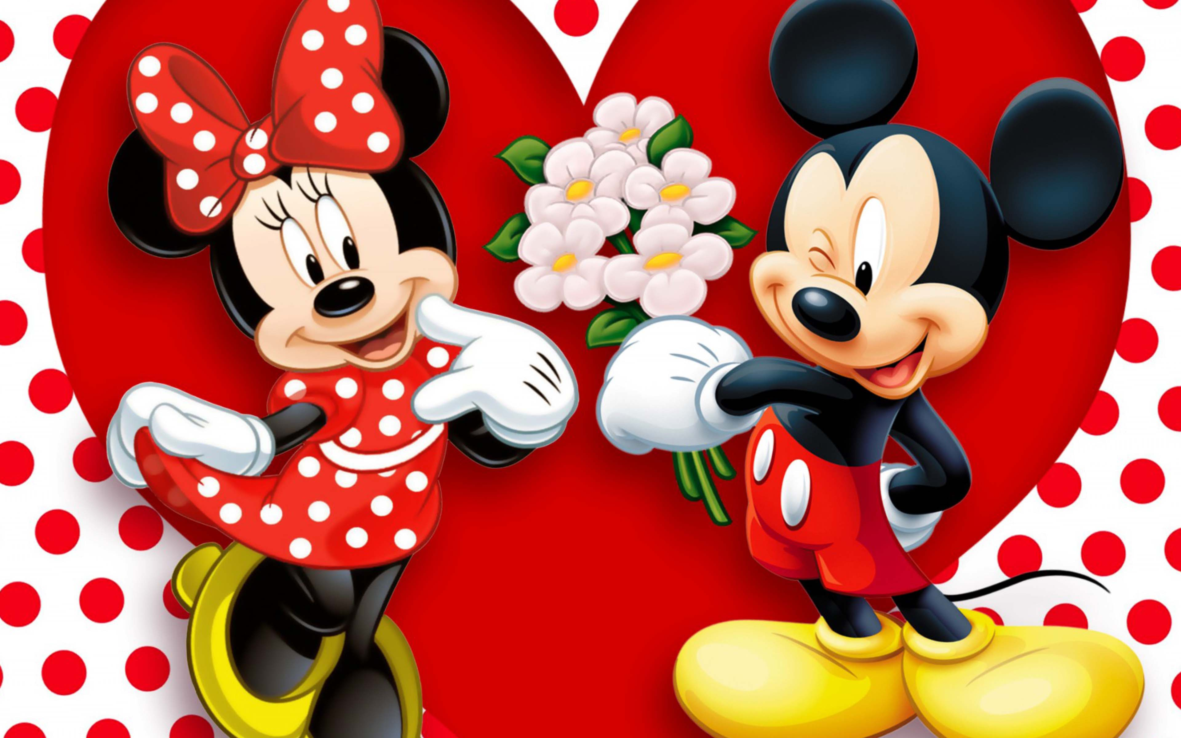 Mickey Mouse Love Wallpaper
