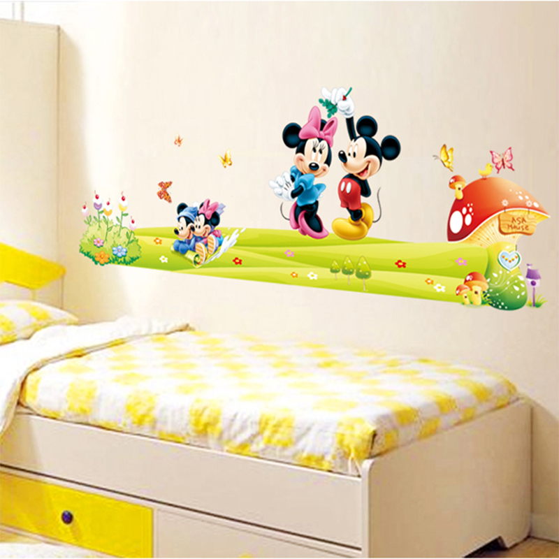 Mickey Mouse Wallpaper For Bedroom