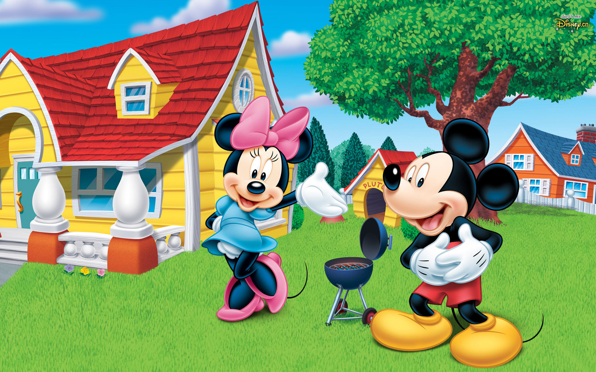 Mickey Mouse Wallpaper For Home