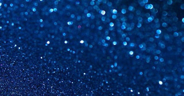 Midnight Blue Glitter Wallpaper