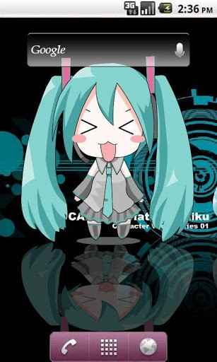 Miku Hatsune Live Wallpaper