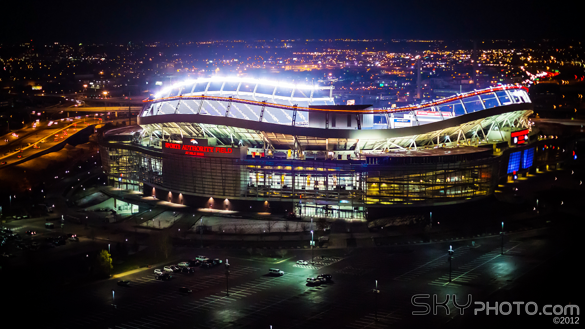 Mile High Stadium Wallpaper
