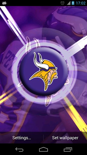 Minnesota Vikings Live Wallpaper