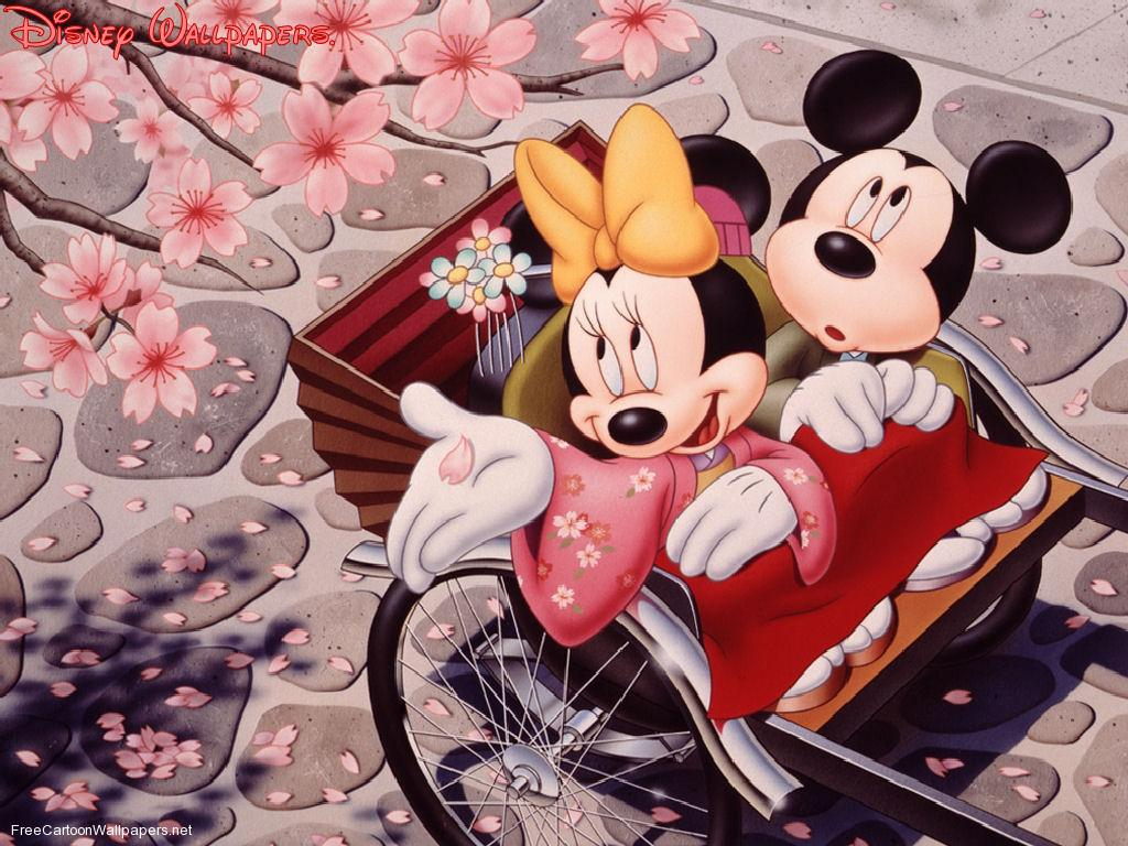 Minnie And Mickey Mouse Wallpapers
