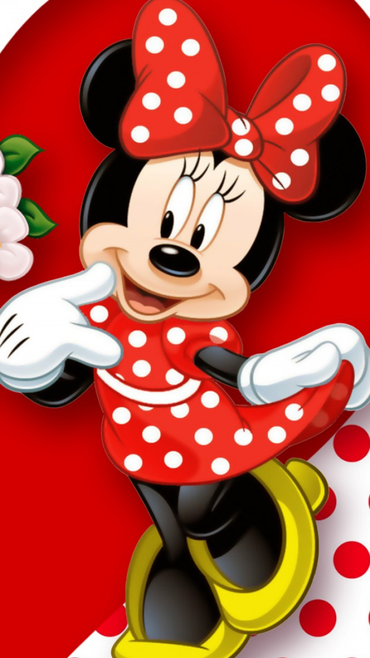 Minnie Mouse Iphone Wallpaper