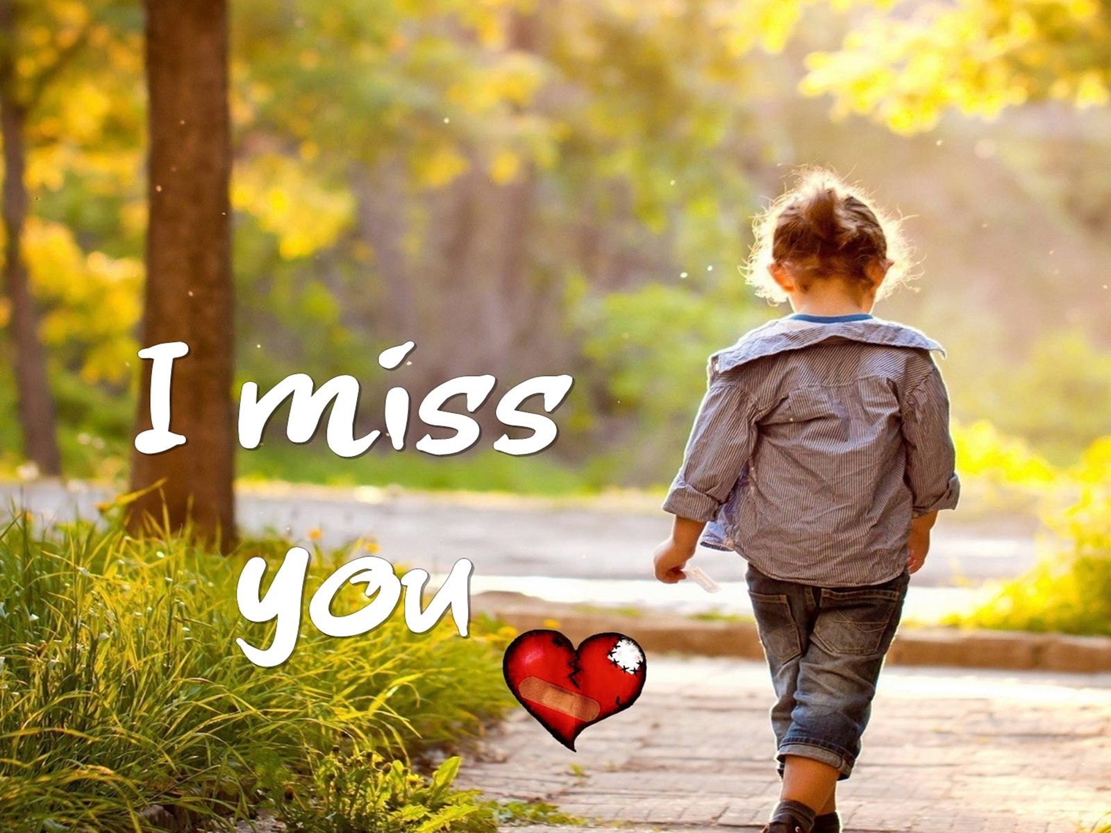 Miss You Baby Wallpapers