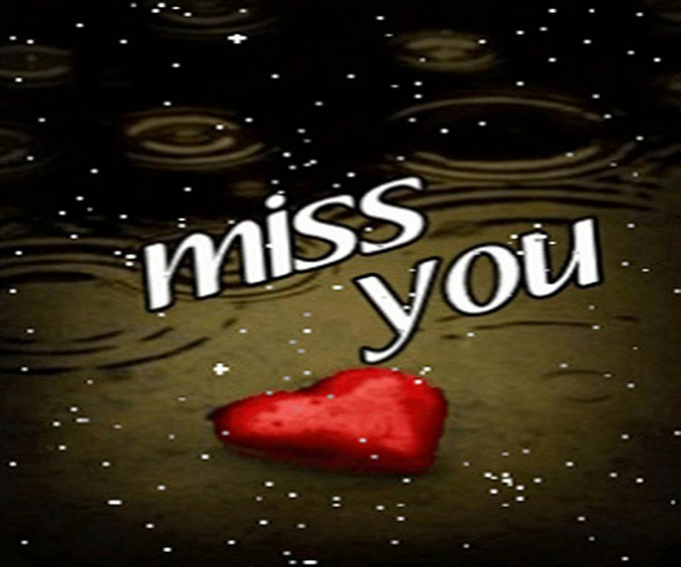 Miss You Love Wallpaper