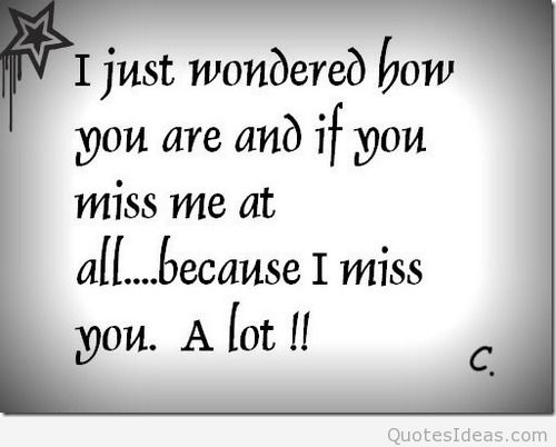 Miss You Quotes Wallpaper
