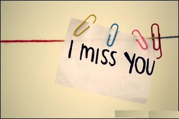 Miss You Wallpaper With Quotes