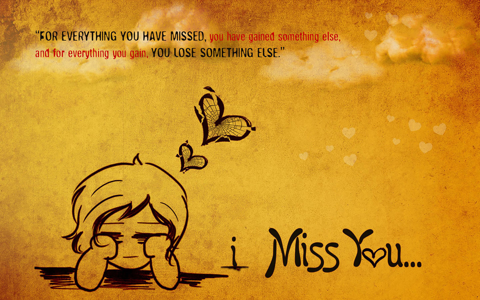 Miss You Wallpapers