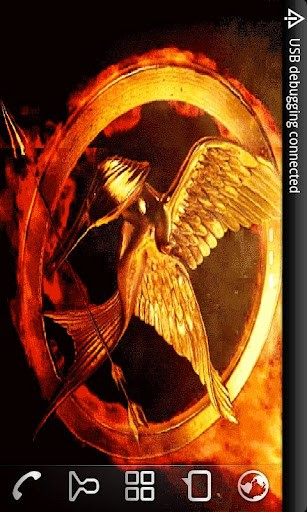 Mockingjay Live Wallpaper