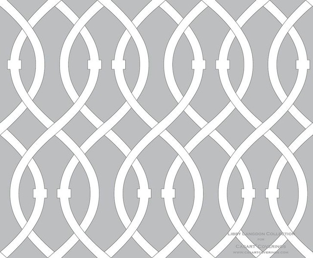 Modern Grey And White Wallpaper