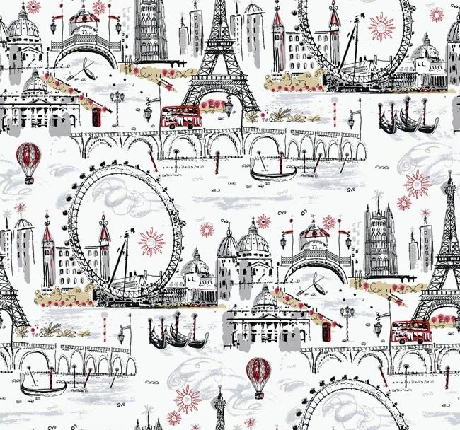 Modern Toile Wallpaper Part 97