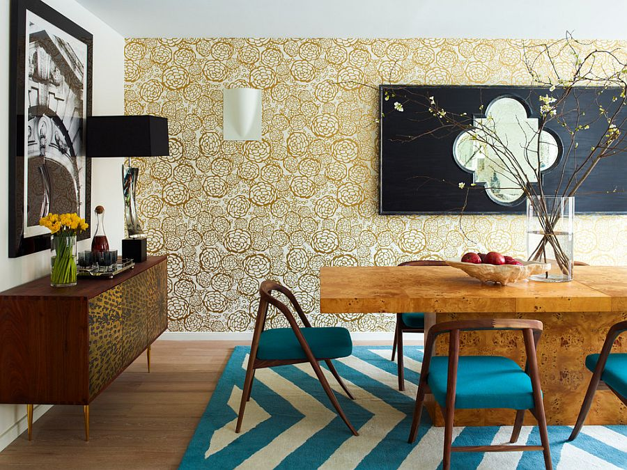 Modern Wallpaper Accent Wall