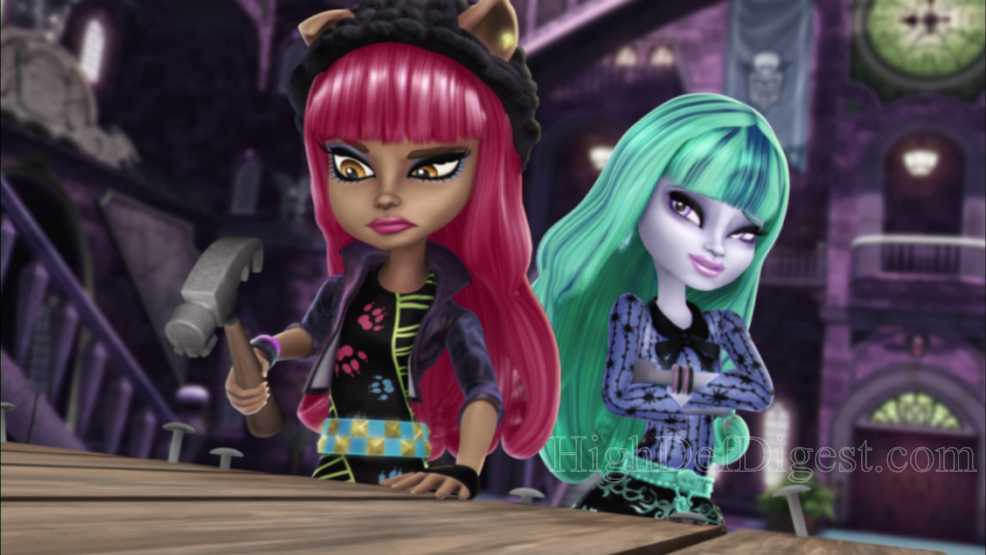 Fusion 2017 Black >> Download Monster High 13 Wishes Wallpaper Gallery