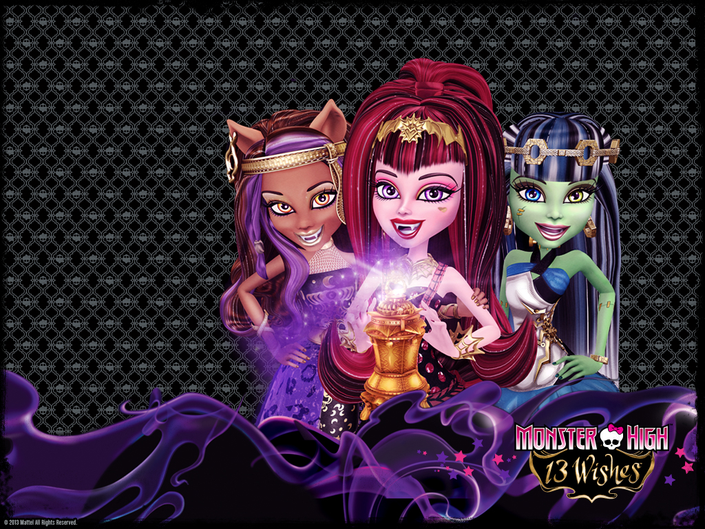 Monster High 13 Wishes Wallpaper