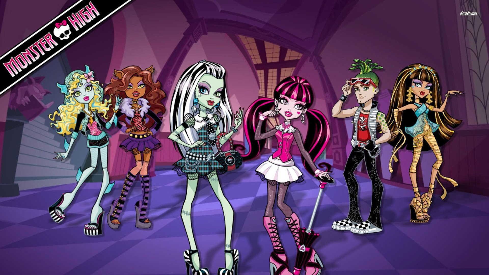 Monster High Clawdeen Wolf Wallpaper