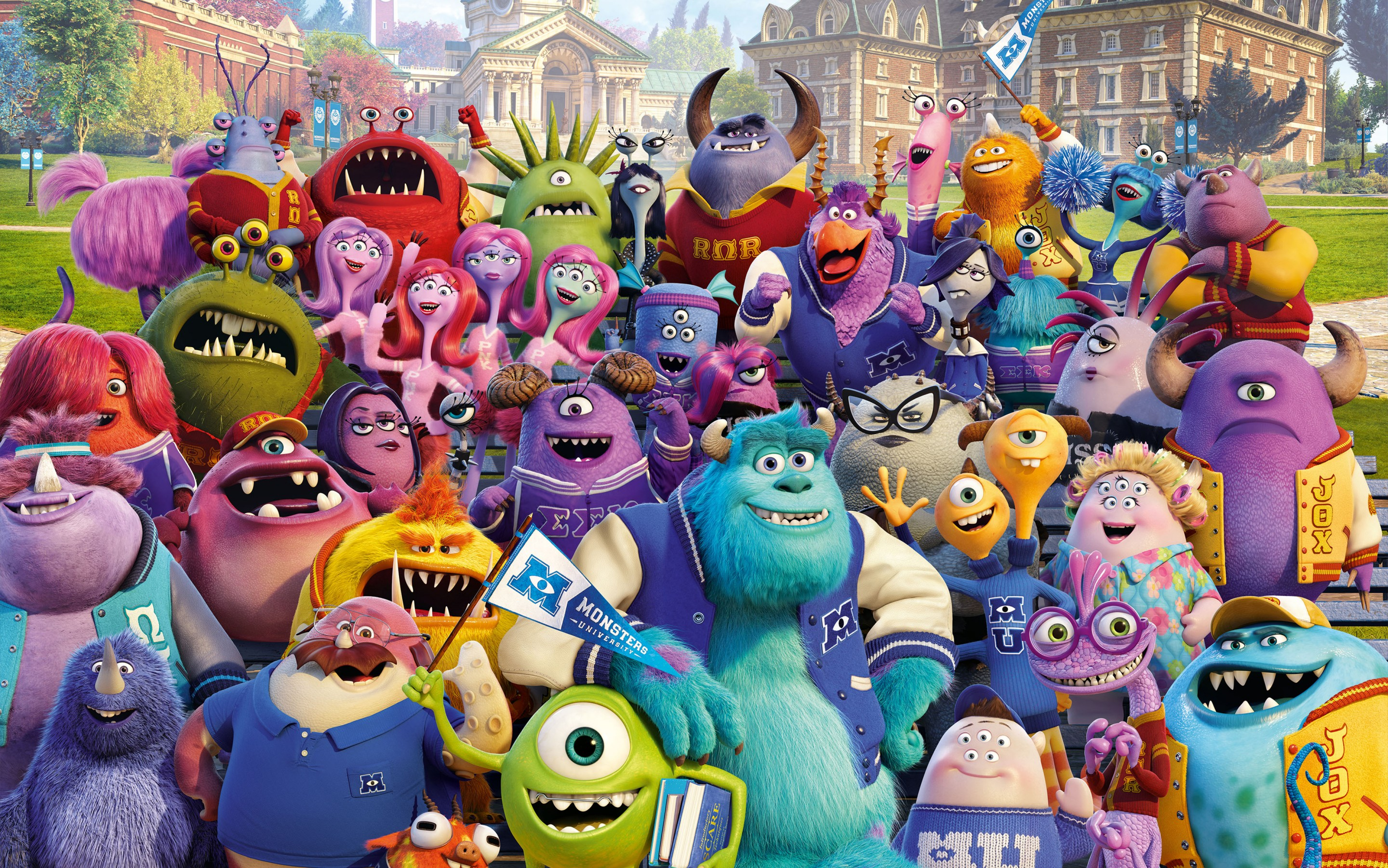 Monster University Wallpaper