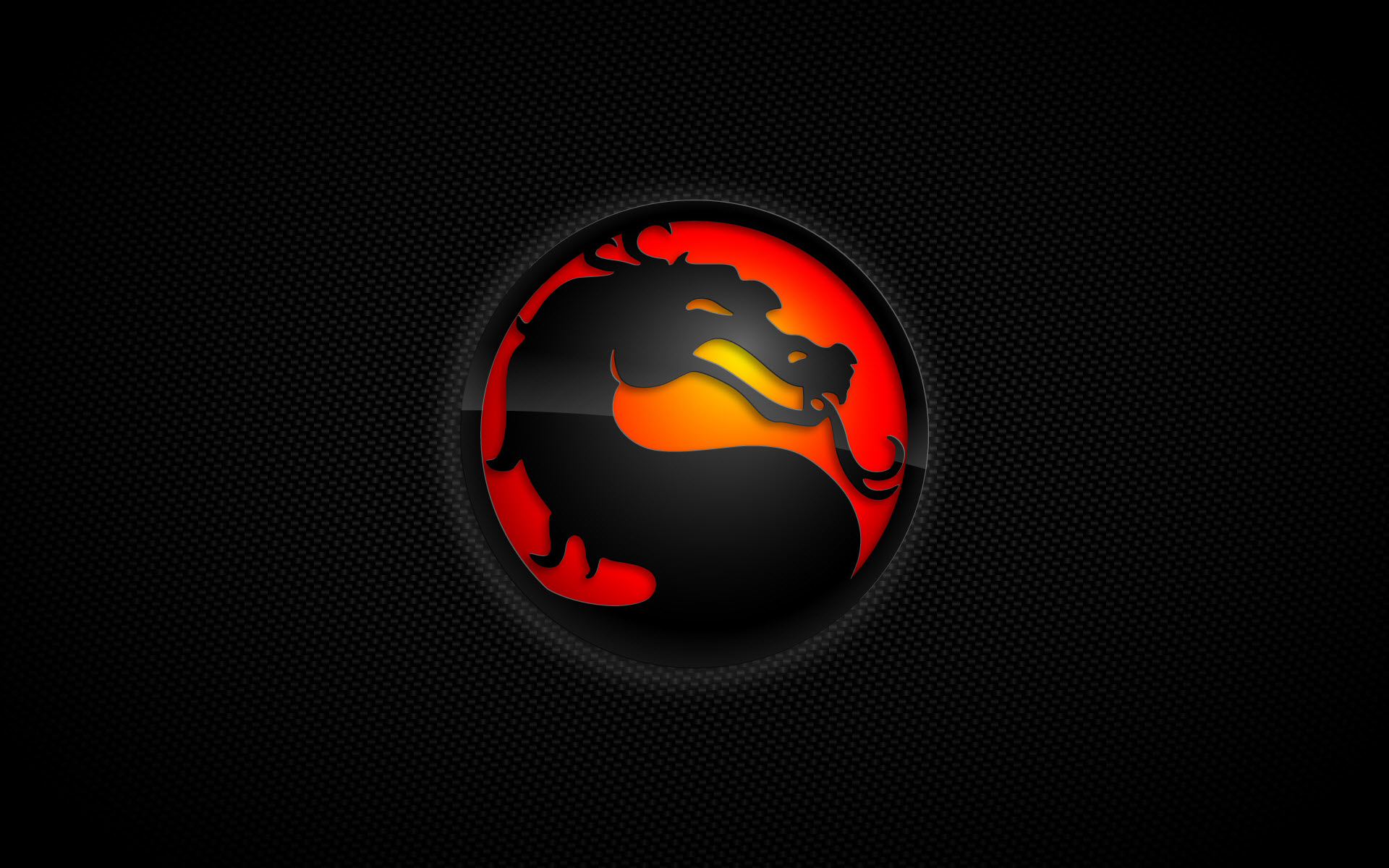 Mortal Kombat Logo Wallpaper