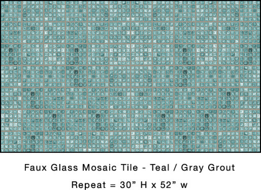 Mosaic Tile Wallpaper