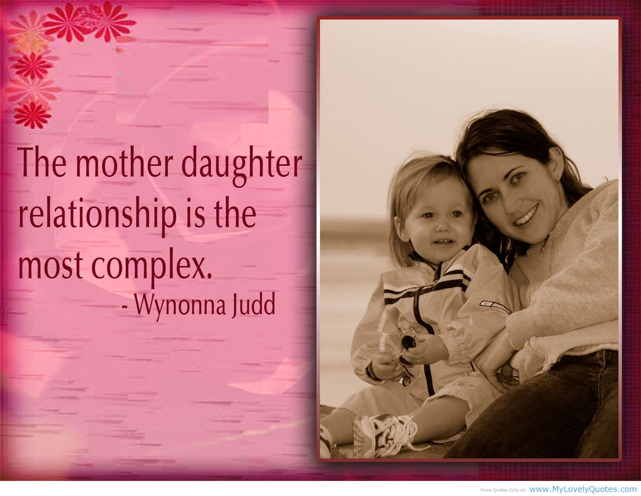 Mother Daughter Quotes Wallpapers
