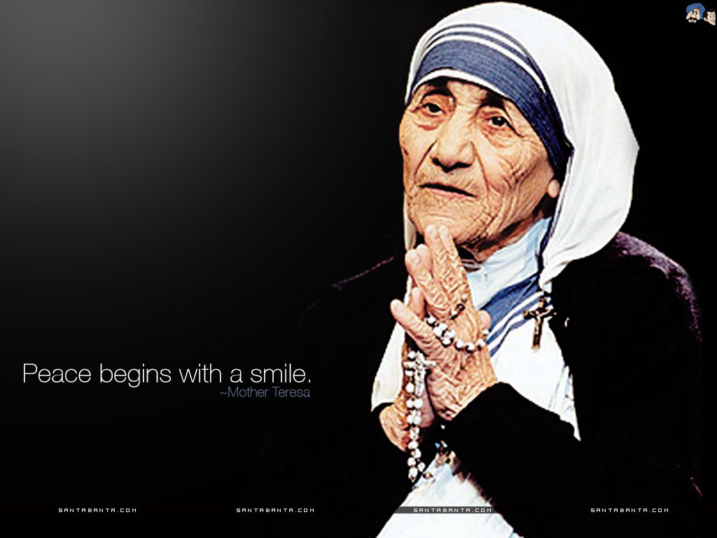 Mother Teresa Wallpaper