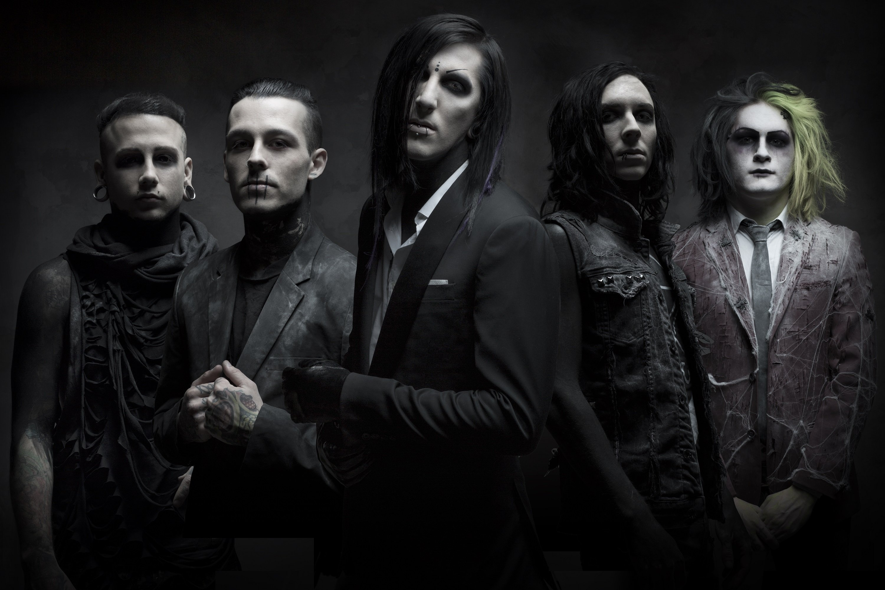 download motionless in white wallpapers gallery. Black Bedroom Furniture Sets. Home Design Ideas