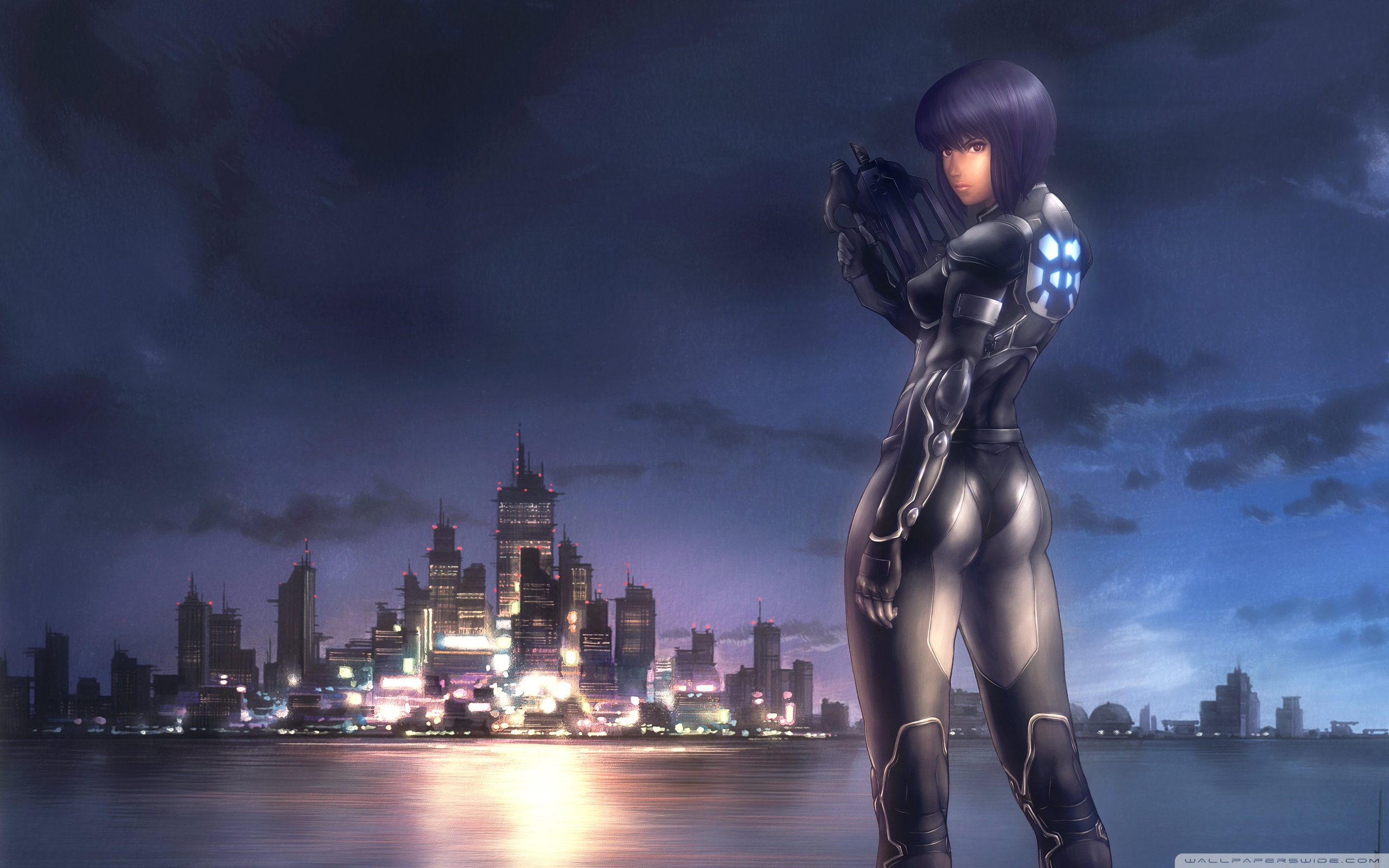 Motoko Kusanagi Wallpaper