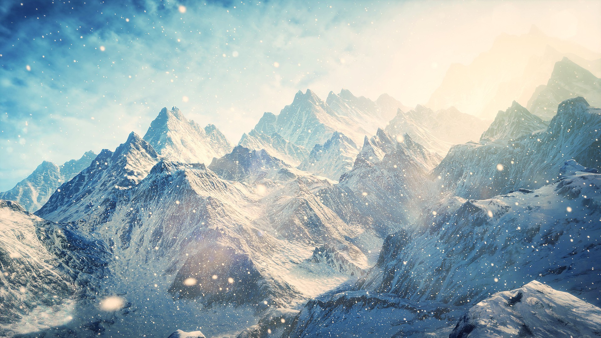 Mountain Peak Wallpaper