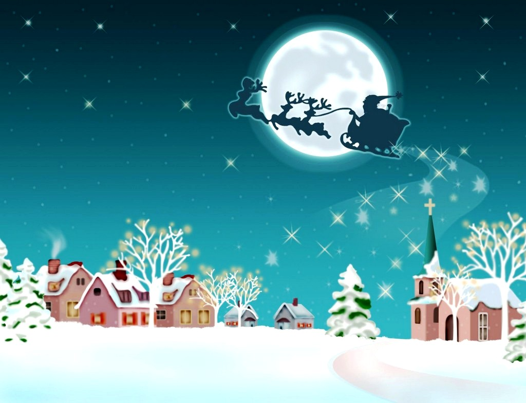 Moving Christmas Wallpaper