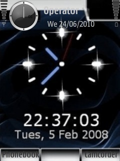 animated clock wallpapers for mobile download moving clock