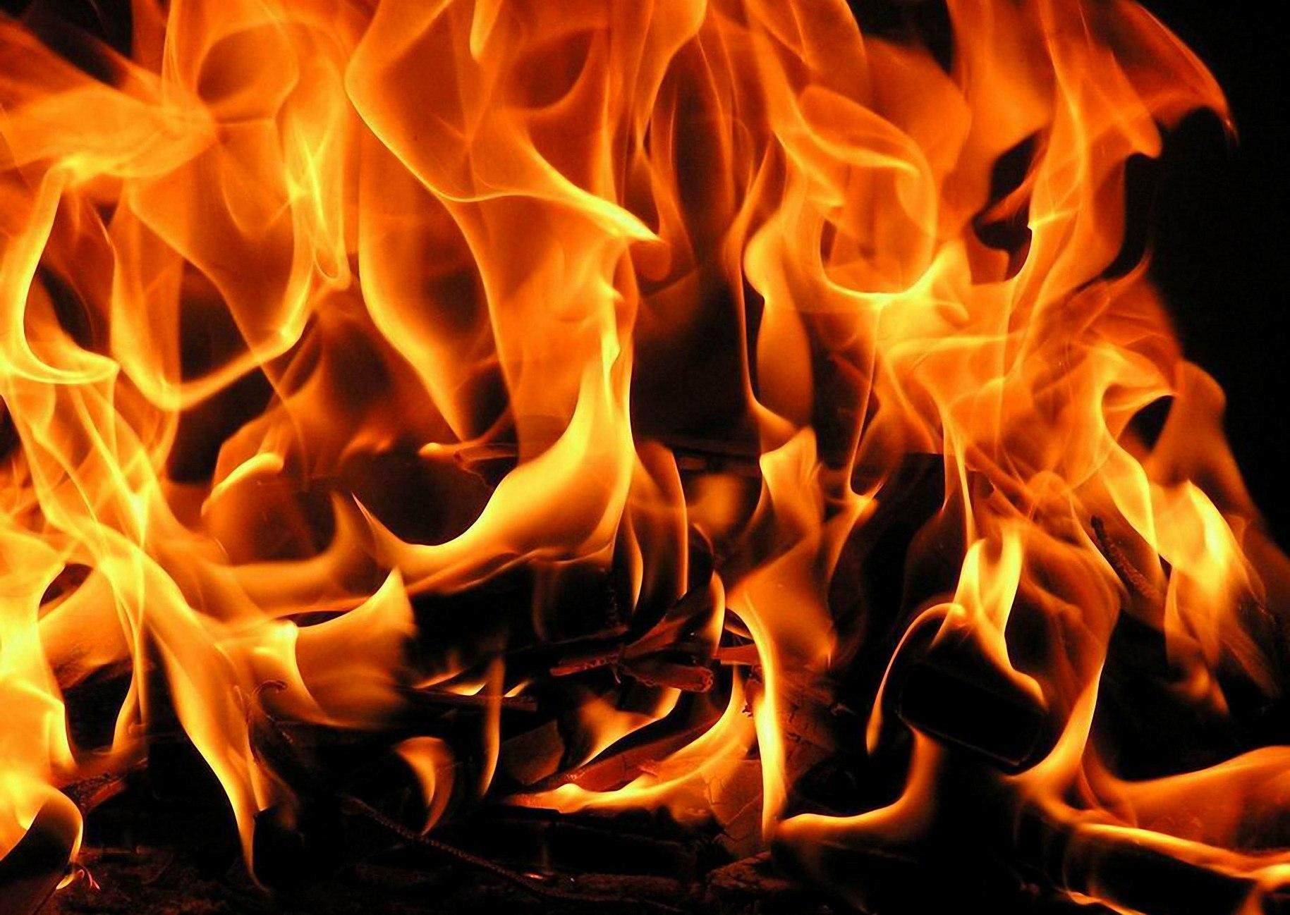 Moving Fire Wallpaper