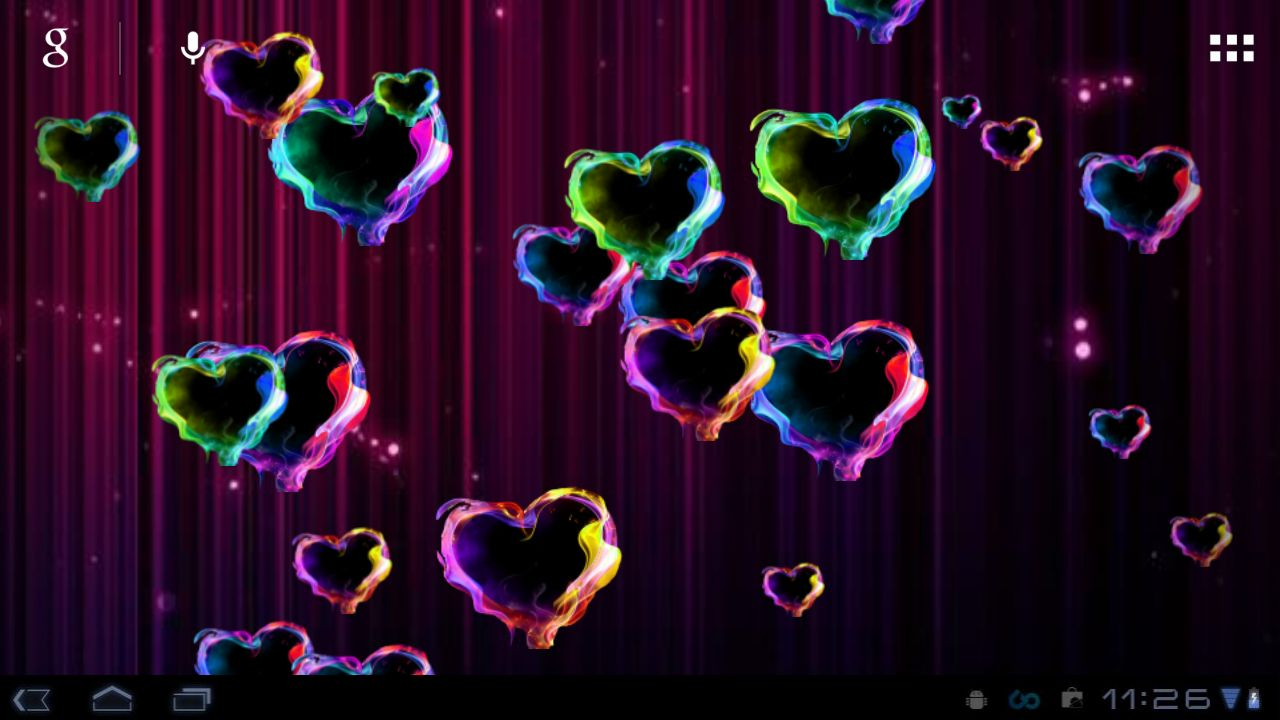 Moving Hearts Wallpaper