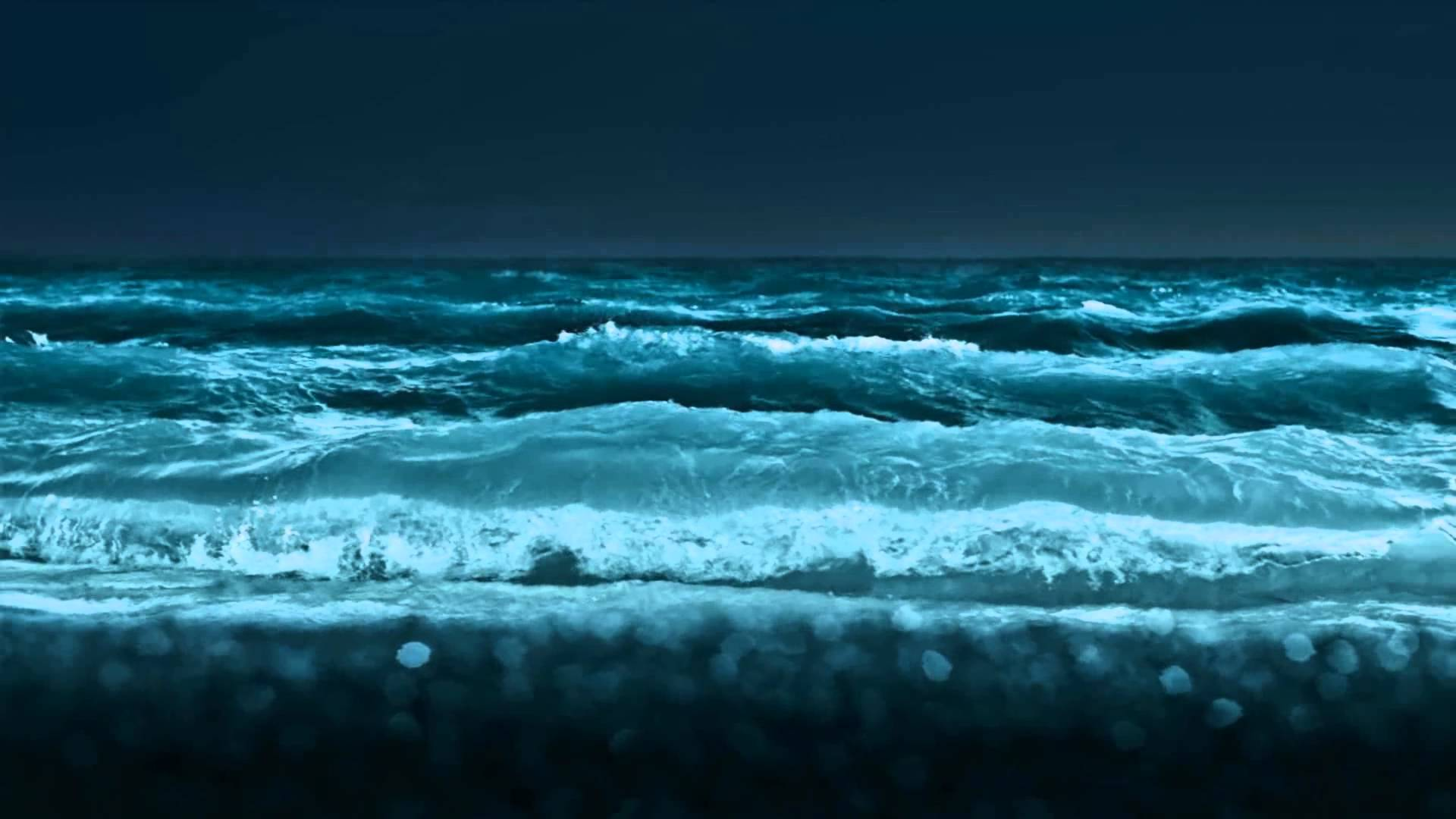 Moving Ocean Wallpaper