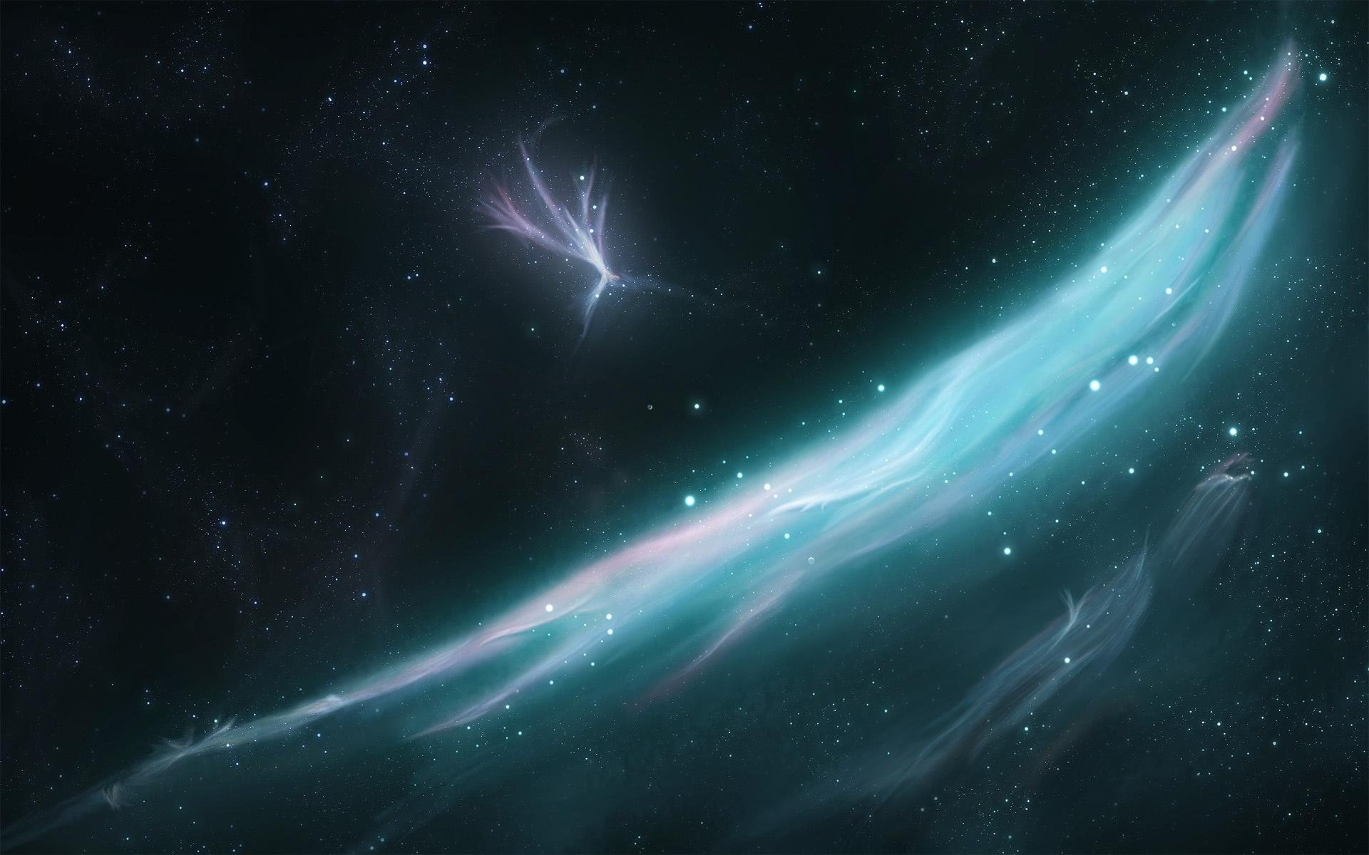 Moving Stars Wallpaper
