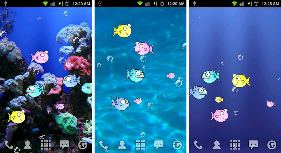 Moving Water Live Wallpaper