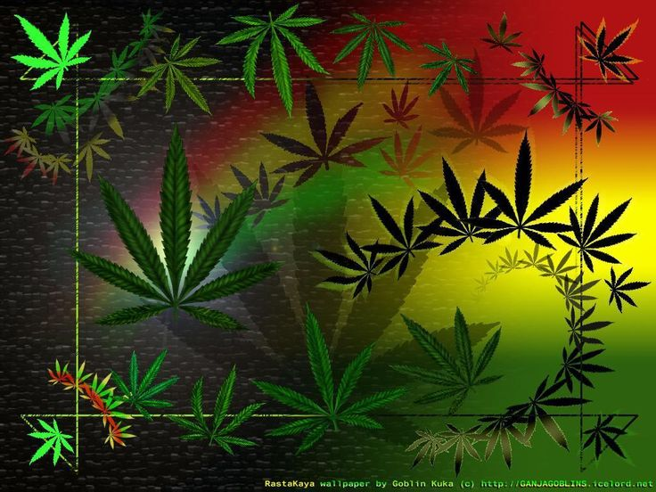 Moving Weed Wallpaper