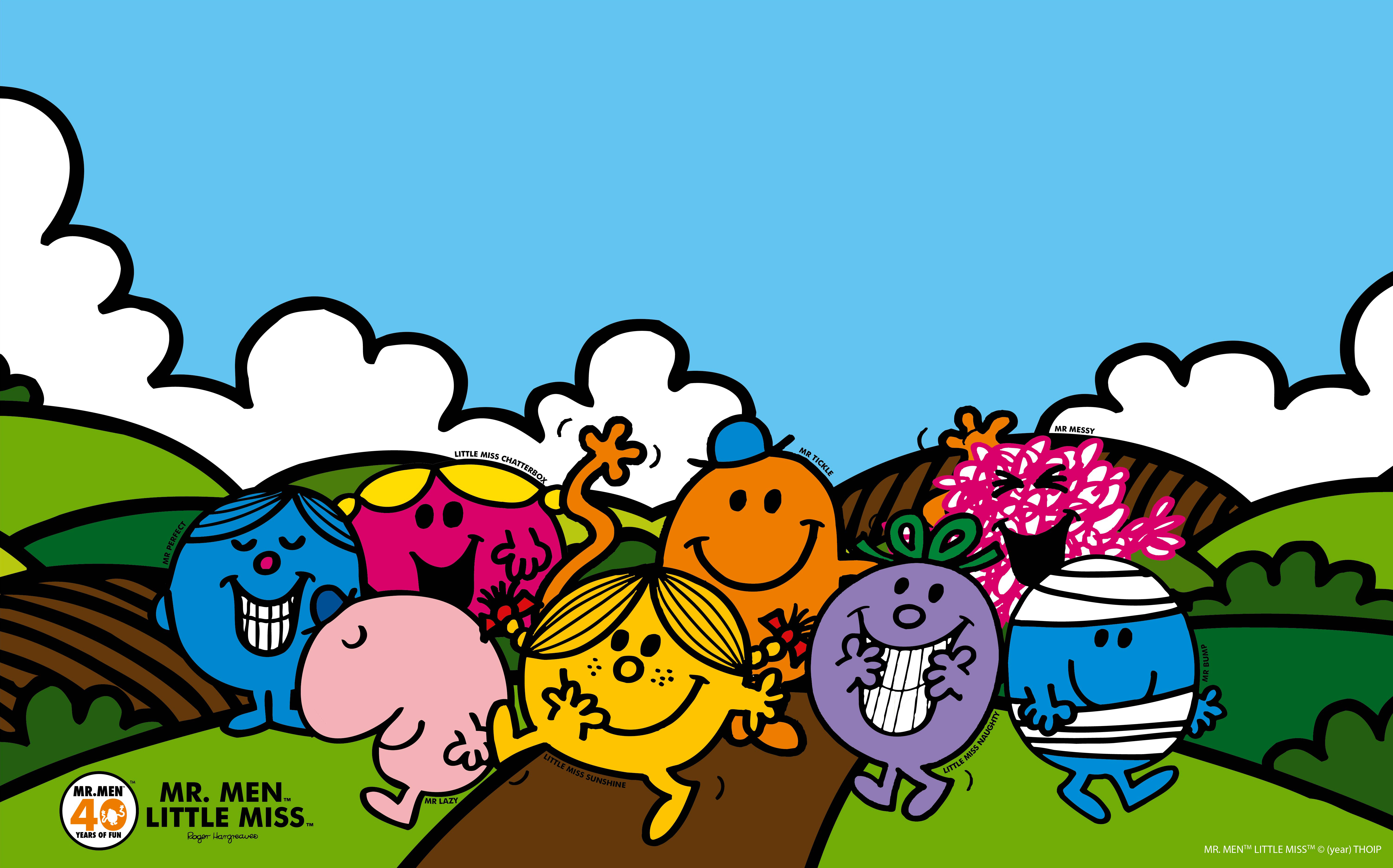 Mr Men And Little Miss Wallpaper