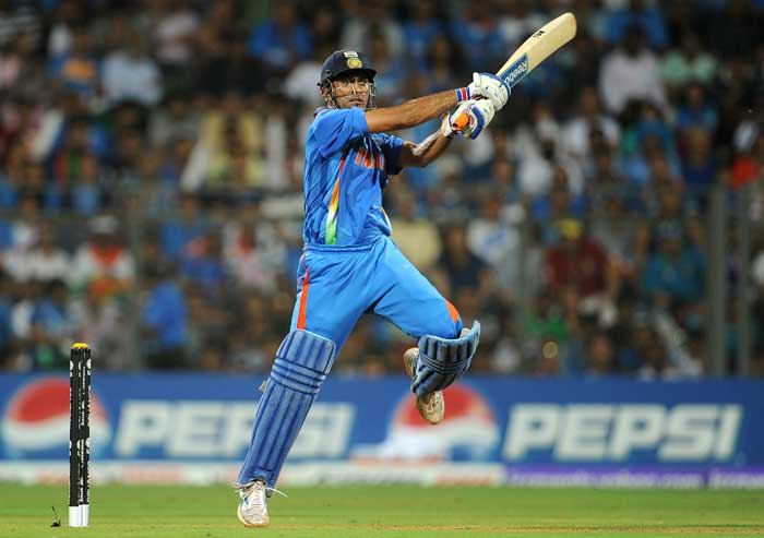 Ms Dhoni Wallpapers In World Cup 2011